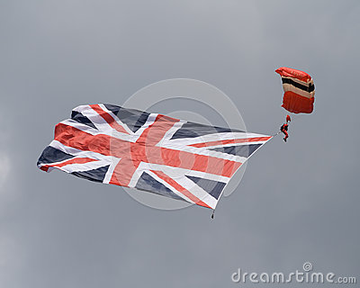 Red Devil display Editorial Stock Photo