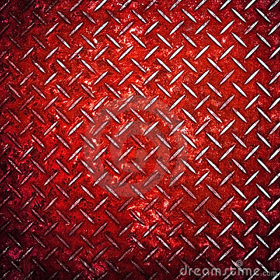 Free Red Diamond Metal Background Stock Photos - 12837253