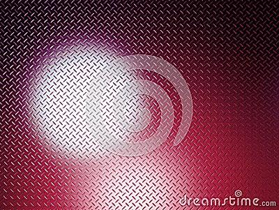Red Diamond Plate glow