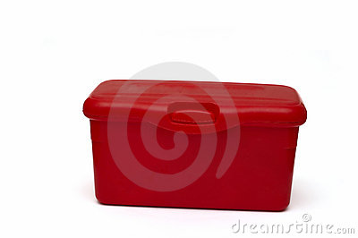 Red diaper box