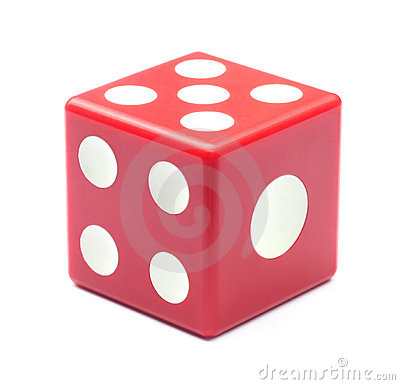 Free Red Dice Royalty Free Stock Photography - 15914397