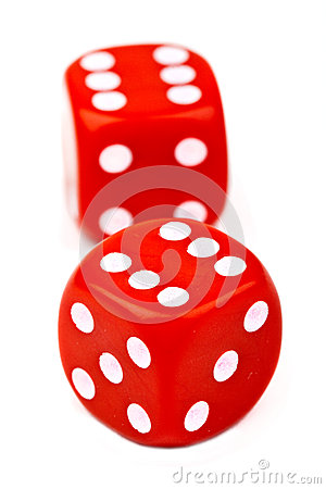 Free Red Dice Royalty Free Stock Images - 28022929