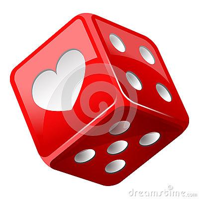 Free Red Dice Stock Photo - 85638110