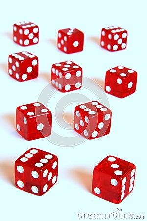 Red dice horizon