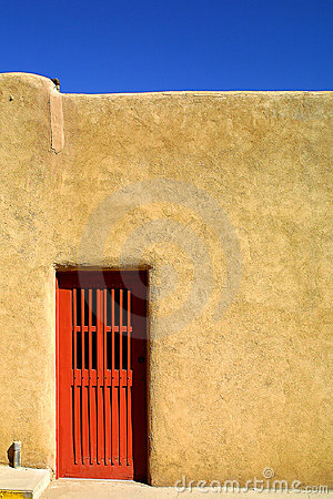 Free Red Door Stock Photography - 2192