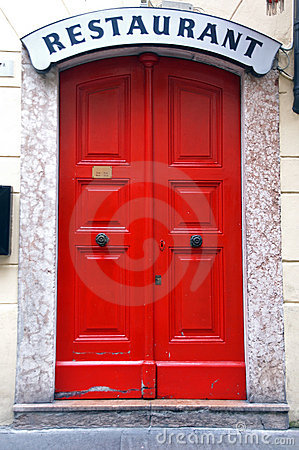 Free Red Door Royalty Free Stock Image - 1421656