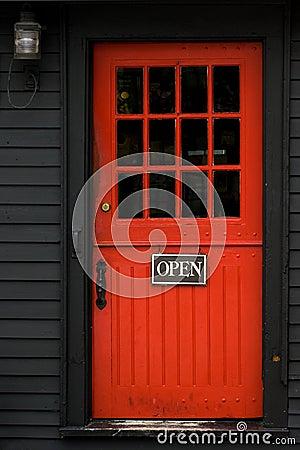 Free Red Door Royalty Free Stock Photo - 2345875