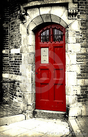 Free Red Door Royalty Free Stock Images - 486189