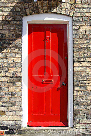 Free Red Door Royalty Free Stock Photography - 724067