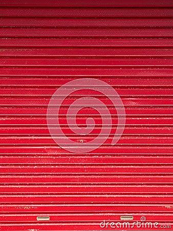 Red door abstract