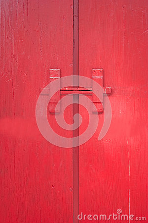 The red door.