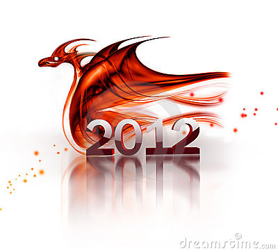 Free Red Dragon Royalty Free Stock Photos - 21009348