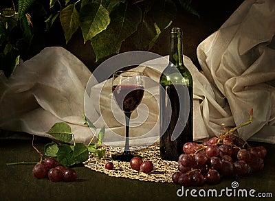 Red dry wine