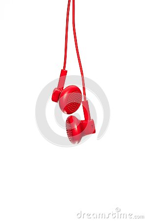 Red Earphone