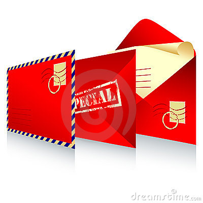 Free Red Envelope Royalty Free Stock Images - 10756299
