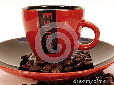 Red Espresso cup 2