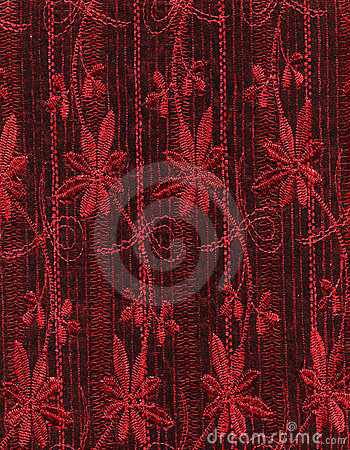 Free Red Fabric Royalty Free Stock Photo - 24026615