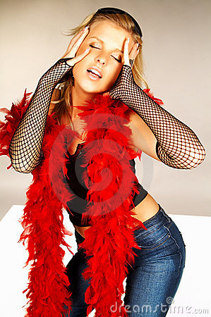 Red feathers #5
