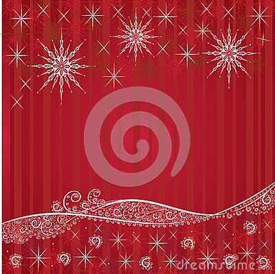 Red festive Christmas backgrounds