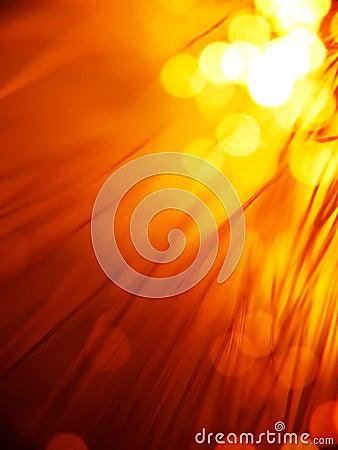 Free Red Fiber Optics Stock Image - 4795501