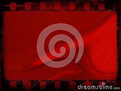 Red film frame