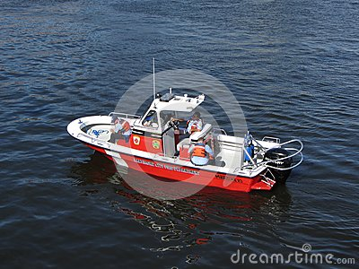 Red Fire Boat
