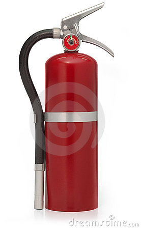Free Red Fire Extinguisher Stock Photo - 2379680