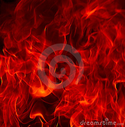 Red Fire Flames of Hell