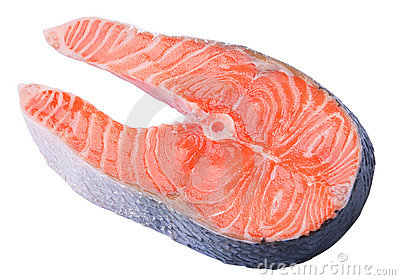 Red fish slice