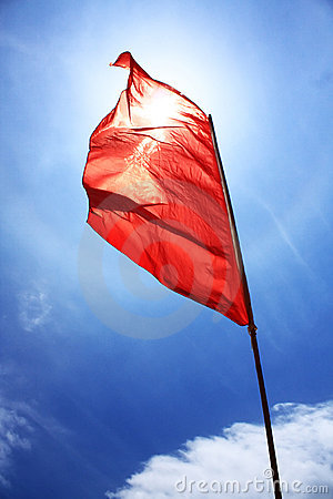 Free Red Flag Stock Photo - 10755310