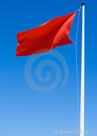 Free Red Flag Royalty Free Stock Images - 6688519