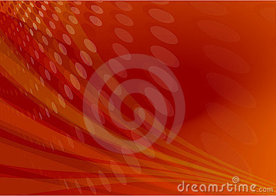 Red flare light abstract