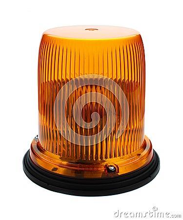 Free Red Flashing Beacon. Stock Image - 19160511