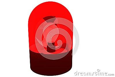 Red flashing