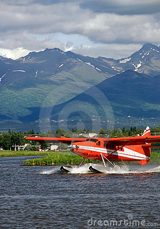 Red Floatplane