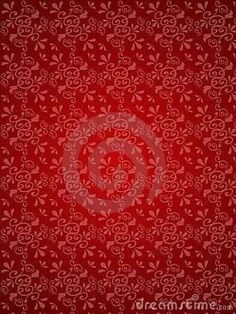 Free Red Floral Background Stock Photo - 2476730