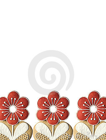 Red Flower Frame Royalty Free Stock Images - Image: 8654219