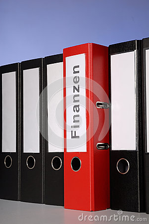 Free Red Folder Royalty Free Stock Images - 40044799