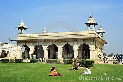 Red Fort Editorial Photo