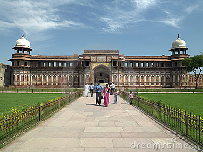 Red Fort - Agra - India Editorial Stock Photo