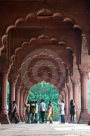 Red Fort, Delhi, India. Editorial Image