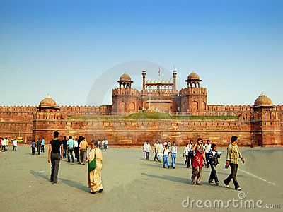 Red Fort - New Delhi - India Editorial Stock Photo