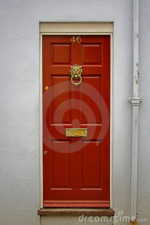 Free Red Front Door Stock Photos - 1207903