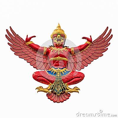 Free Red Garuda Stock Image - 31472141
