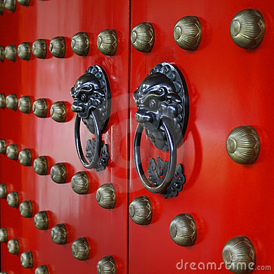Free Red Gate Royalty Free Stock Image - 4597296