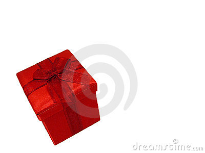 A Red Gift Stock Images - Image: 182904