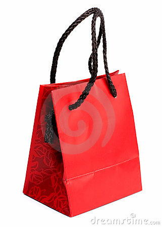 Red gift bag 2