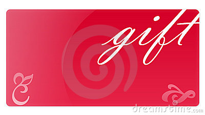 Red Gift Card