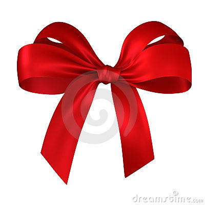 Free Red Gift, Ribbon, Bow Stock Images - 3376074