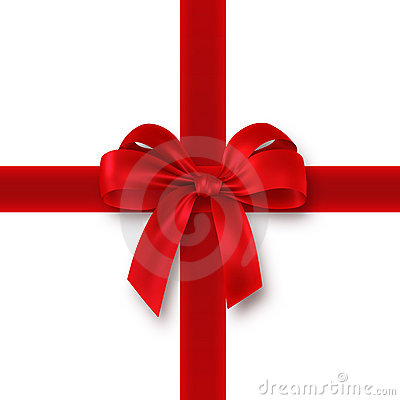 Free Red Gift, Ribbon, Bow Stock Photos - 3600943